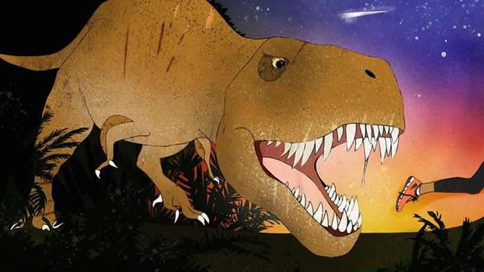科学家最新研究表明人类奔跑速度超过霸王龙