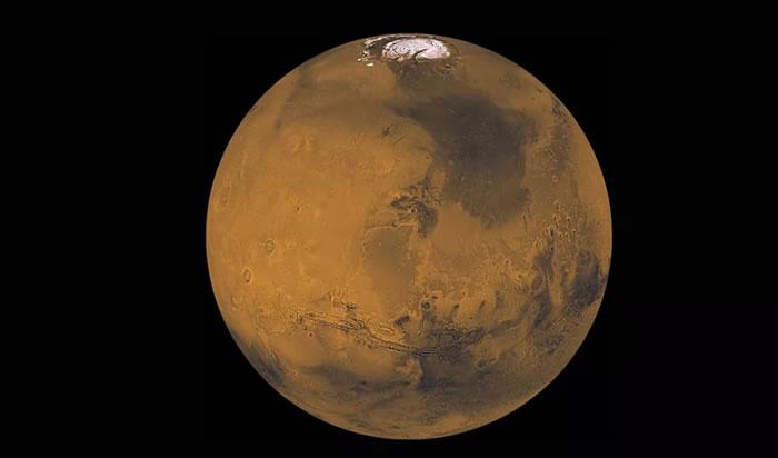 《自然地球科学》杂志:研究表明远古火星可能曾被冰雪覆盖过