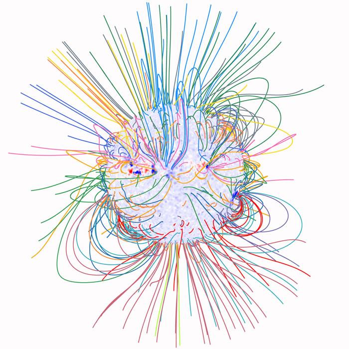绘制太阳最外层稀薄大气——日冕磁图的新方法