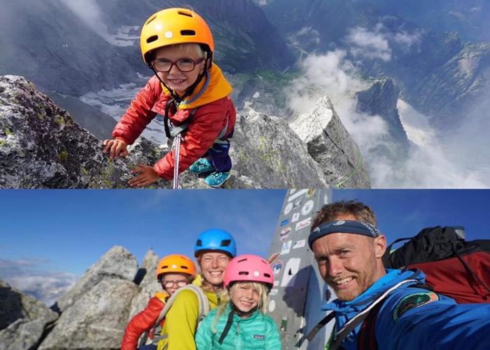史上最年轻 英国坎布里亚郡3岁男童登上万呎巴迪莱峰