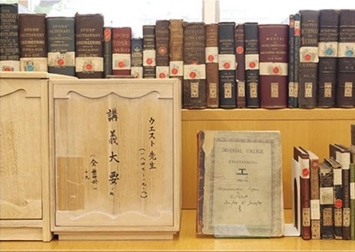 明治时代在东京大学等使用过的工学相关教育资料
