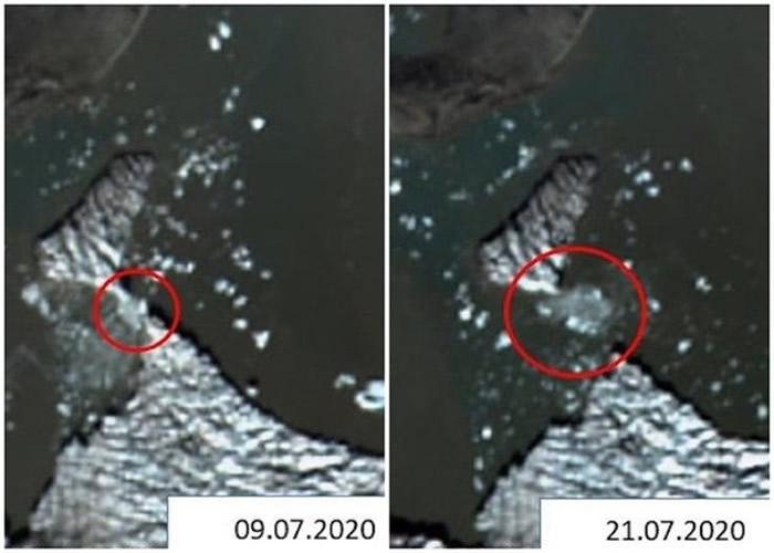 俄罗斯8名学生透过在线监测卫星图像和讯息成