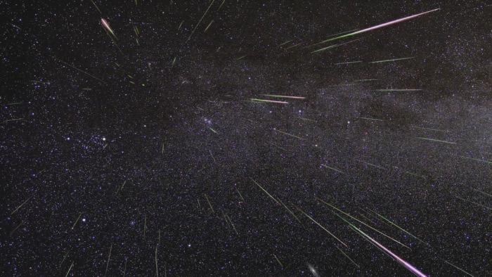 2020年8月12日英仙座流星雨极大期