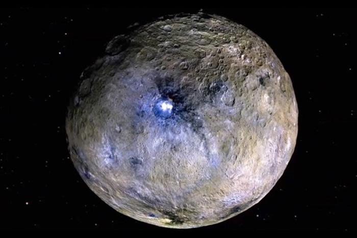 最新研究显示谷神星(Ceres)可能是一个海洋世界 或存在外星生命