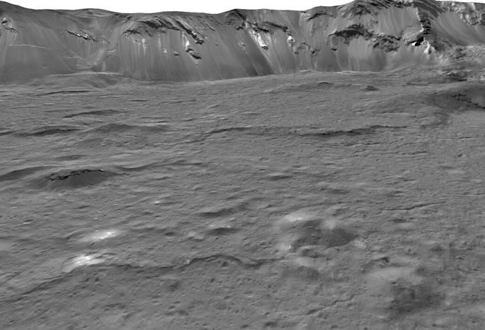 """谷神星Ceres寒冷的地表下可能蕴藏大量盐水 宛如""""海洋世界"""""""