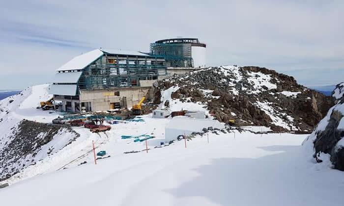 位于智利,正在建设中的薇拉·C·鲁宾天文台只需要很少的现场工作人员