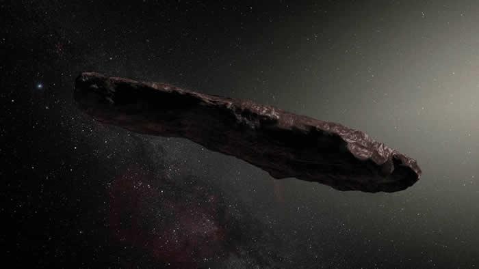 研究发现雪茄形状的天体奥陌陌(Oumuamua)实际上并不是由氢分子冰山组成