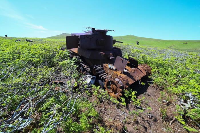 千岛群岛最北部的占守岛之战:第二次世界大战的最后一场战役