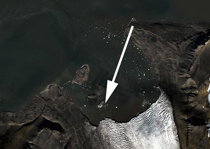 俄罗斯中学生在北极的新地岛群岛地区发现一个新岛屿