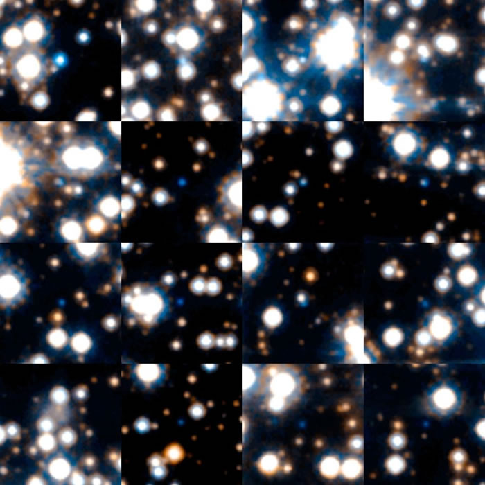这些白矮星是在2006年由哈伯太空望远镜进行的一项天文巡天项目中拍照的。
