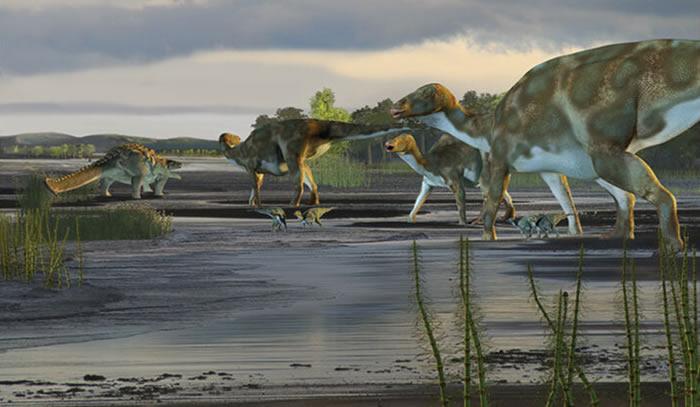研究发现恐龙体型惊人或与其骨骼特质有关
