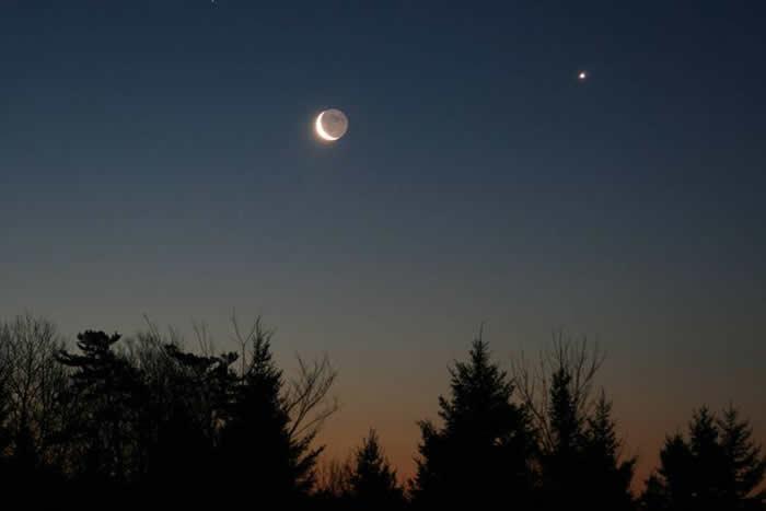 2020年9月14日金星合月