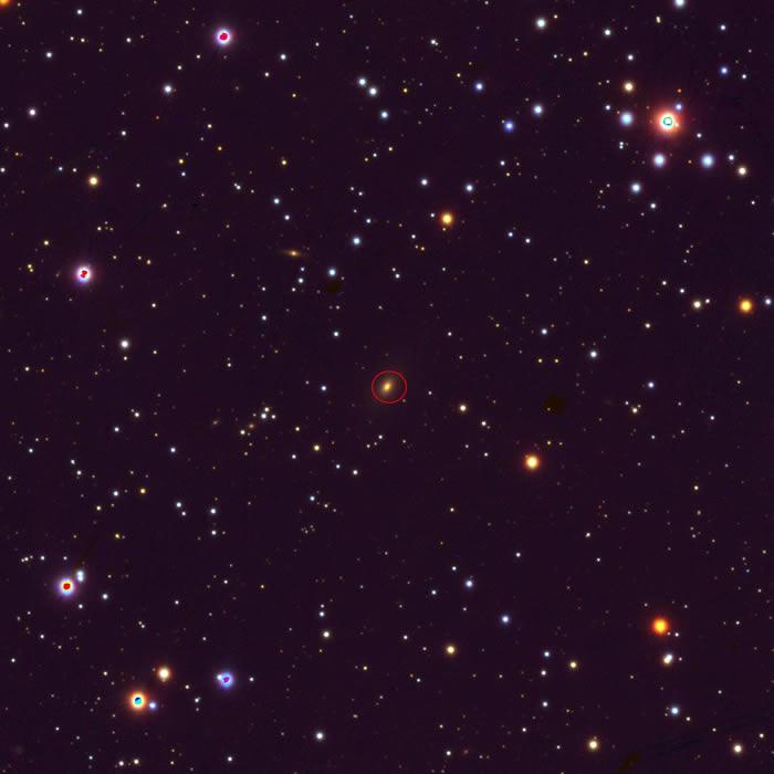 NASA分享TXS 0128+554星系的新外观 跟《星球大战》中的TIE战斗机极为相似