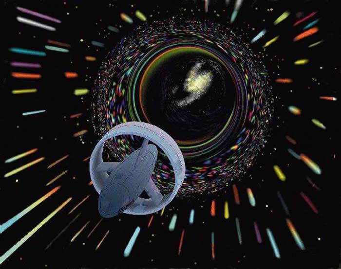 新研究指在量子物理学领域内虫洞实际上是可能存在的 人类旅行者穿越虫洞将十分安全