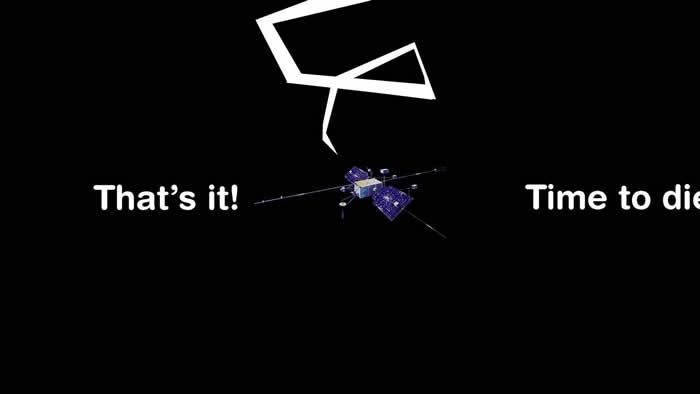 """美国宇航局1964年9月发射的""""轨道地球物理台""""1号卫星将于下周末回落到地球上"""
