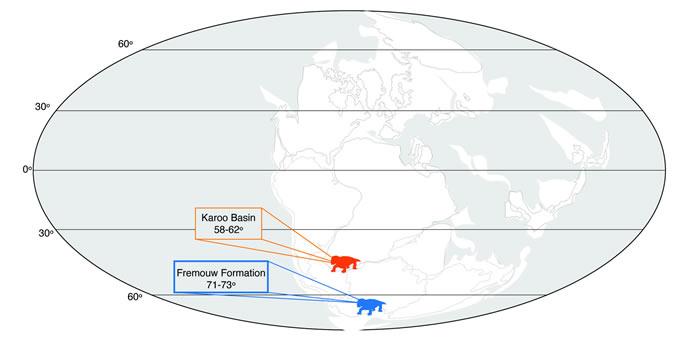 2.5亿年前生活在南极洲的史前动物Lystrosaurus可能依靠冬眠生存下来