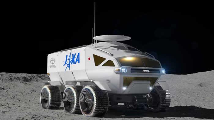 """日本丰田月球漫游车""""LUNAR CRUISER""""将驶向月球"""