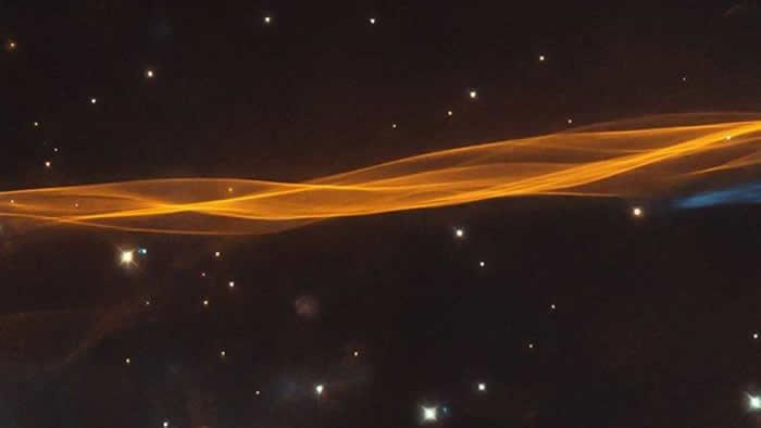 NASA分享天鹅座超新星爆炸冲击波图像