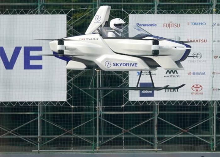 日本科技企业SkyDrive飞天车载人测试成功 有望开拓全新天际交通