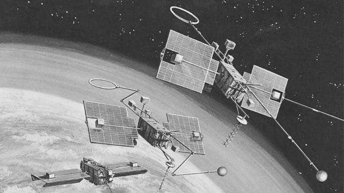 NASA的OGO-1卫星最终重新进入地球大气层解体