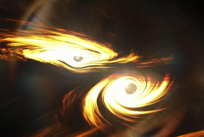 GW190521:天文学家探测到有史以来最大规模的两个黑洞碰撞事件
