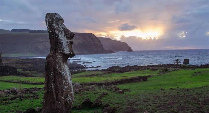 气候和生态系统的变化是复活节岛文明消亡的原因