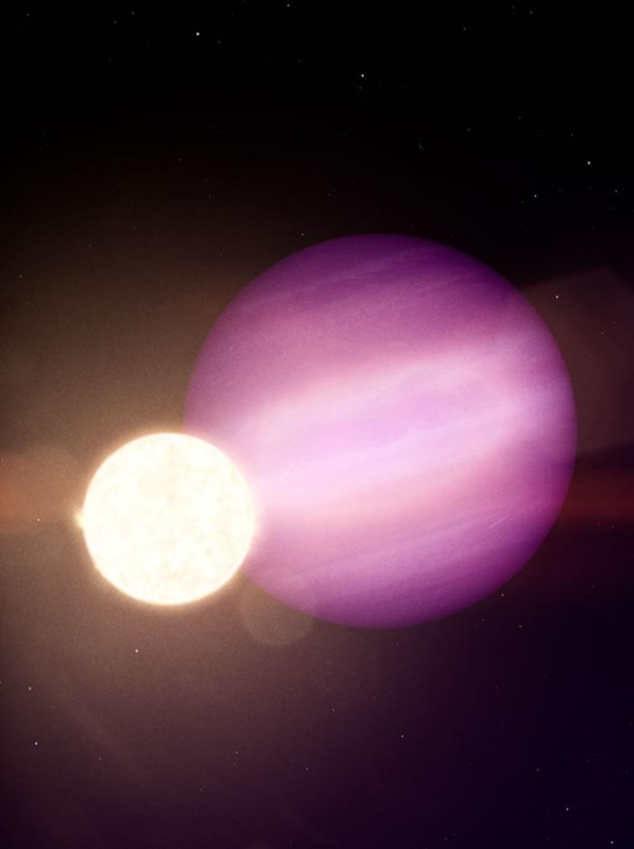 发现绕白矮星(WD 1856+534)旋转的巨行星(WD 1586 b)