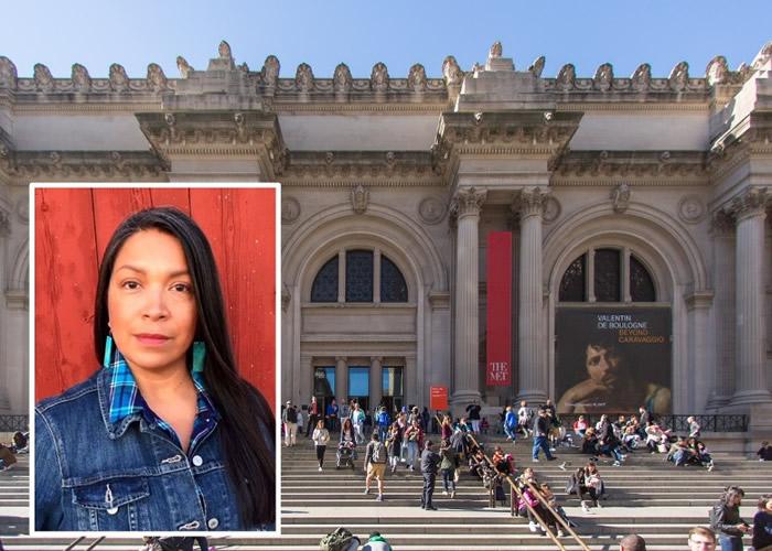 美国纽约大都会艺术博物馆The Met成立150年来首位原住民副馆长Patricia Marroquin Norby