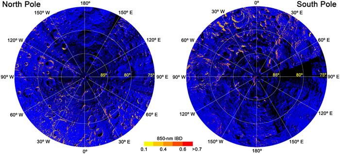 地球氧气腐蚀:月球高纬度地区发现铁氧化矿物——赤铁矿