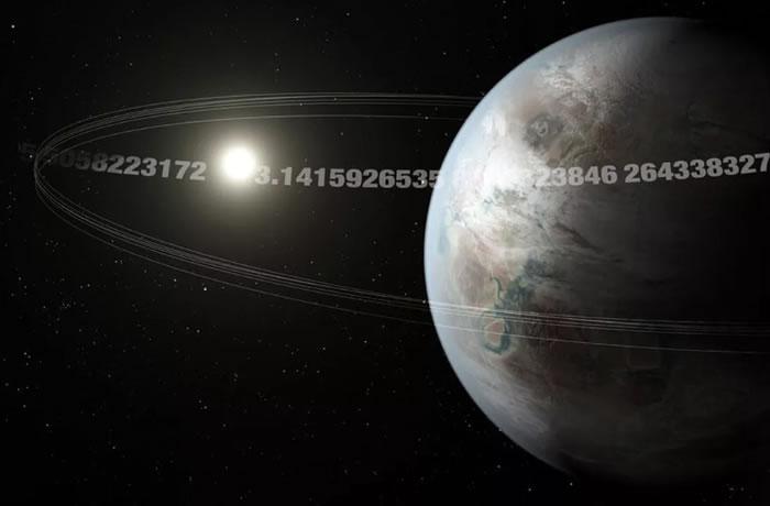 """《天文学杂志》:发现""""圆周率行星""""K2-315b 每隔3.14天就绕着恒星运行一次"""