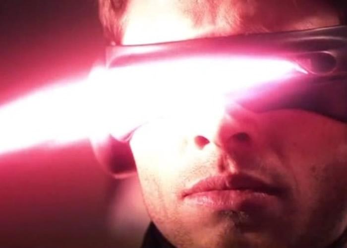 """电影《变种特攻》中""""激光眼""""施展技能的画面。"""