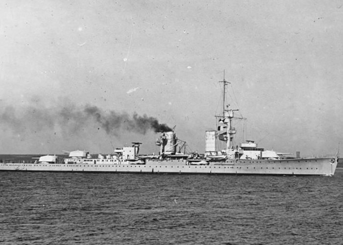 挪威海域发现二战时期沉没的德国卡尔斯鲁厄号轻巡洋舰残骸