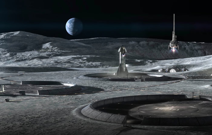 NASA与ICON公司达成协议开发可以在月球上轻松建造的3D打印技术