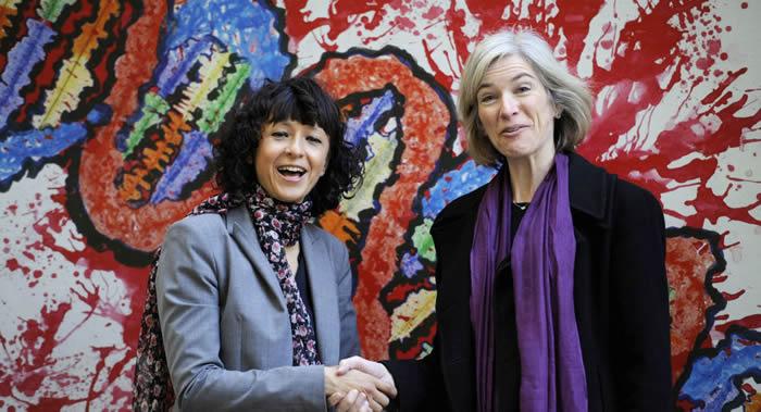 2020年诺贝尔化学奖授予Emmanuelle Charpentier和Jennifer A. Doudna