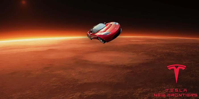 SpaceX创始人埃隆·马斯克的特斯拉Roadster跑车已飞至距火星700万公里处