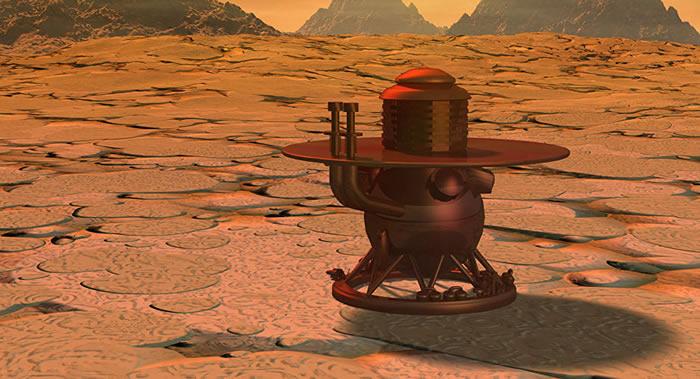 """俄罗斯""""金星-D""""(Venera-D)着陆舱将在金星表面钻探 深度会达到数厘米"""