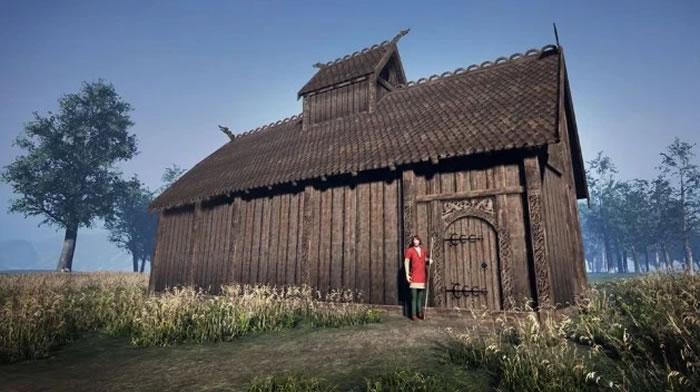 挪威西部发现一座有1200年历史的维京时代异教徒教堂废墟