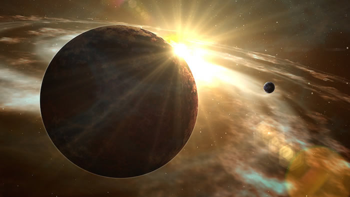 巨大恒星的超级耀斑发出的紫外线可以破坏行星的宜居性