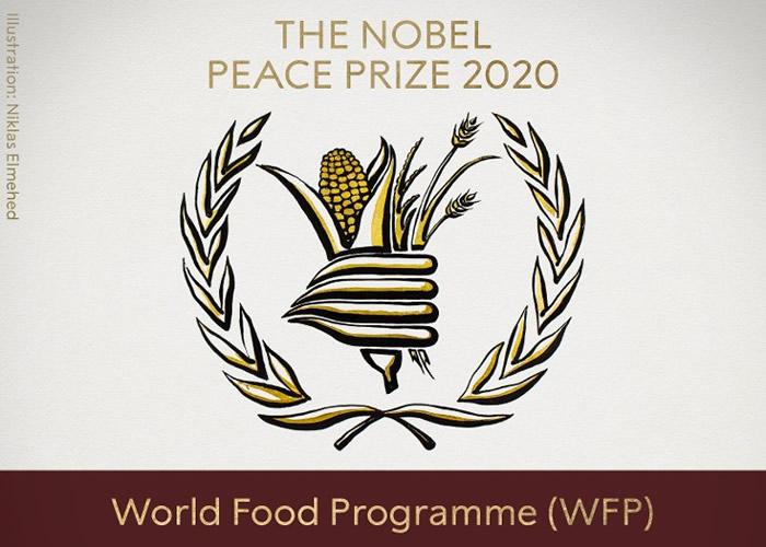 对抗饥饿 联合国世界粮食计划署获颁今年度诺贝尔和平奖