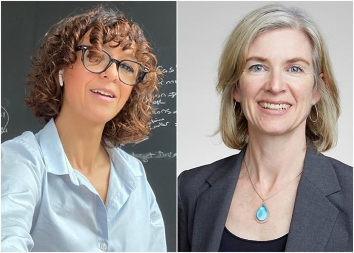 沙尔庞捷(左图)及杜娜(右图)获得诺贝尔化学奖。