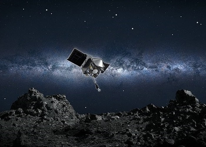 "NASA探测器奥西里斯-REx将首次着陆小行星""贝努""Bennu 收集岩石样本"
