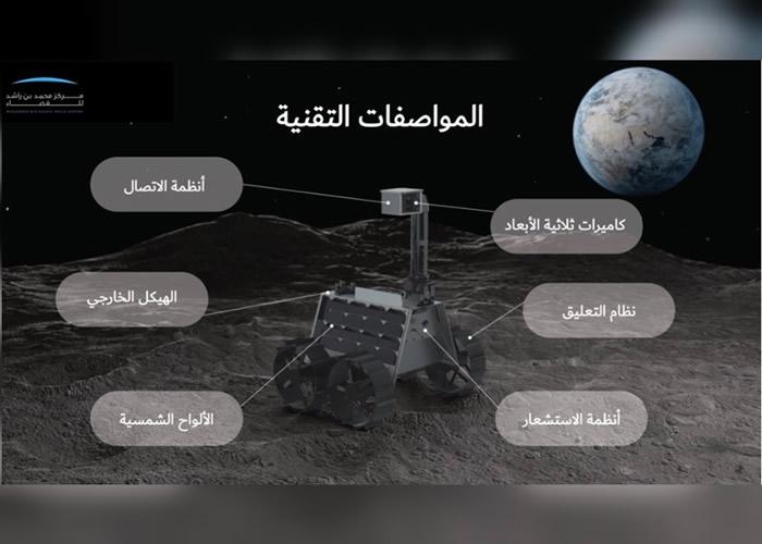 阿拉伯世界首例:阿联酋月球探测车2024年登月
