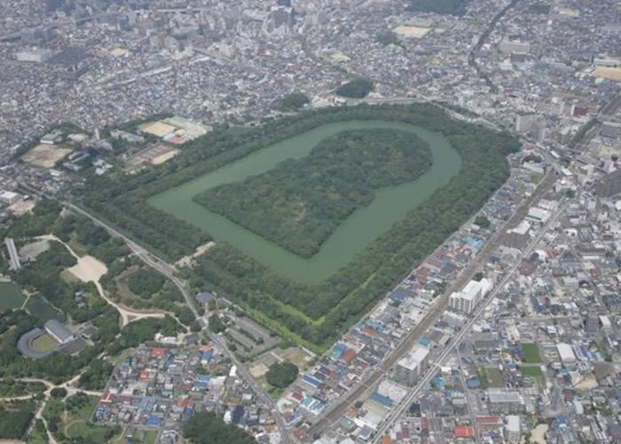 """日本宫内厅计划明年秋季再次考古挖掘古代皇陵""""大山古坟"""""""