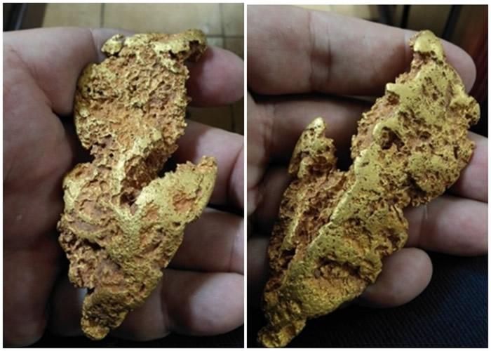 澳洲西部采矿者在路上不慎绊倒后意外发现价值3万澳元的黄金