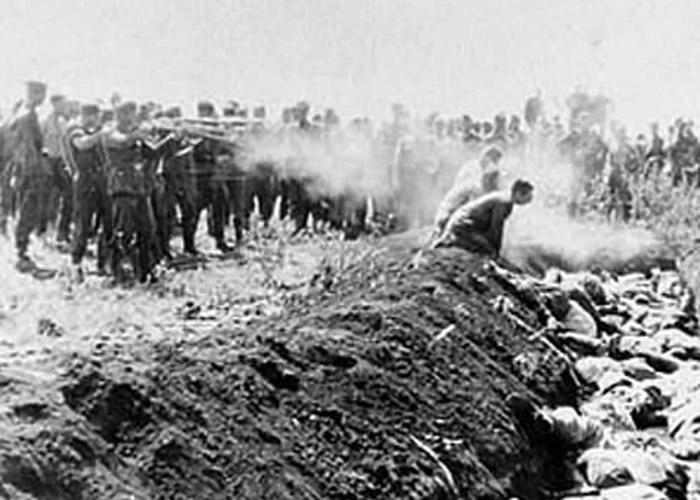 英国最新调查揭露二战纳粹大屠杀并非始于波兰奥斯威辛等集中营 而是乌克兰娘子谷