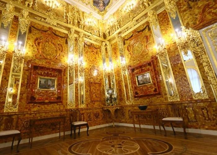 琥珀宫的原貌。