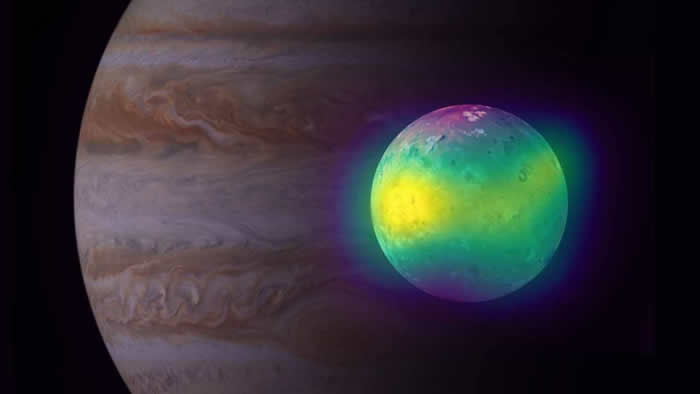 阿塔卡马大毫米/亚毫米波阵列的新射电图像首次显示木卫一上火山活动的直接证据