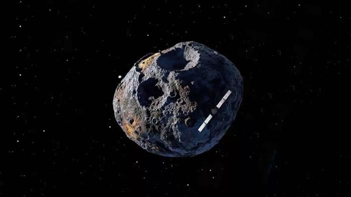 美国宇航局计划探测价值14000亿美元的小行星16 Psyche