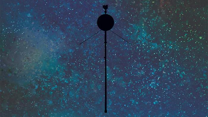 澳大利亚的Deep Space Station 43无线电天线向旅行者2号探测器发出了几条指令
