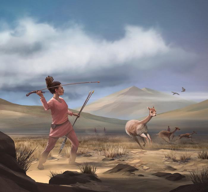 秘鲁安第斯山脉深坑中发现一具9000年前的女猎人遗骸